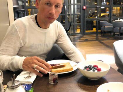 2018 Frühstück um 3:30 morgens