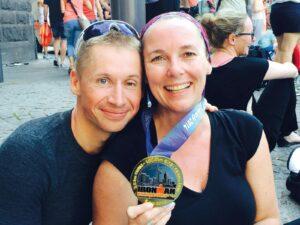 2014 Frankfurt – Geschafft, meine erste Medaille.